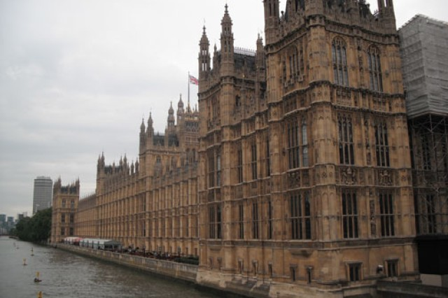 Britain's Houses of Parliament in London, which Spc. Kelly Iser visited while on R&R;from Iraq in 2010.