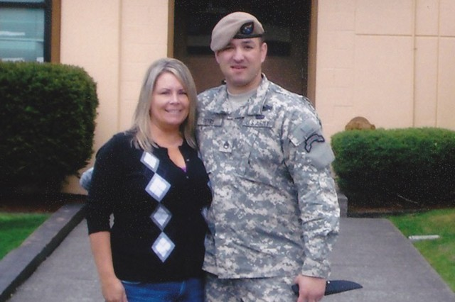 Staff Sgt. Petry and his wife, Ashley, May of 2010.