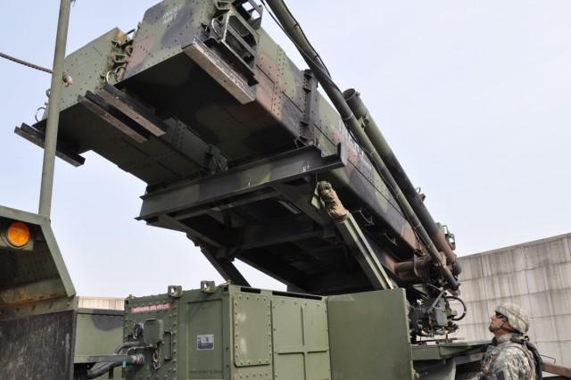 The 6th Battalion, 52nd Air Defense Artillery receives new Patriot equipment during a six-month long recaitalization program.