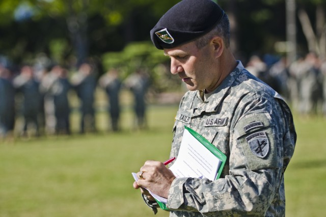 The last PSYOP Group Change-of-Command