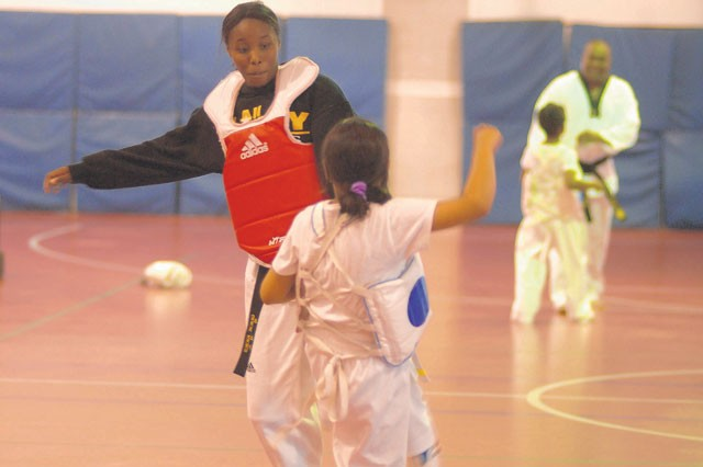 Taekwondo teaches sport and life lessons