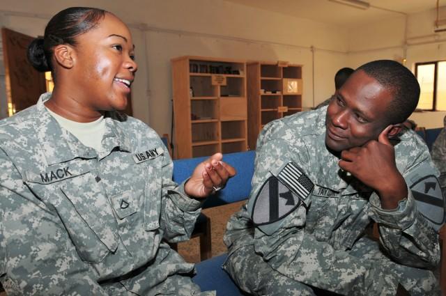Soldiers improve communication skills