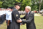 Hessen Minister presents Sgt. McCaughrean Medal for Civil Courage