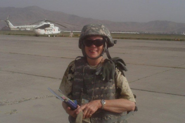 Lynn Roberts, a contract specialist at ACC-Redstone and member of the ACC Deployable Cadre program, has worked for the government for 39 years and deployed to both Iraq and Afghanistan.