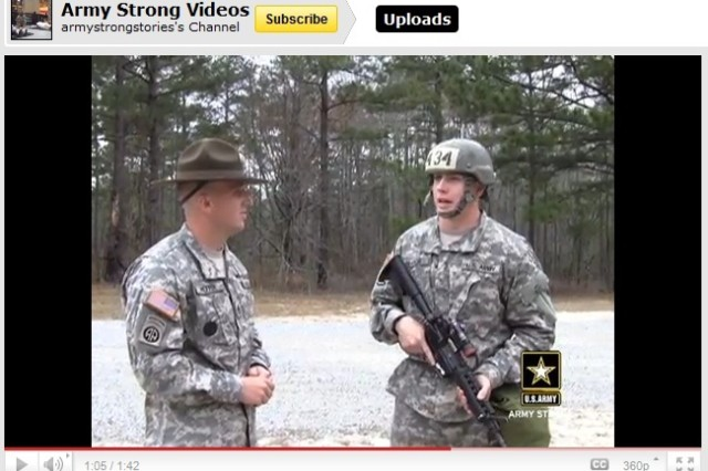 Drill Sergeant Levi Peffer explains how the experience of going through a gas chamber helps build Soldiers' trust in their equipment and each other.