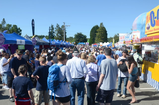 Freedom Fest attracted well over 30,000 visitors along with dozens of vendors.