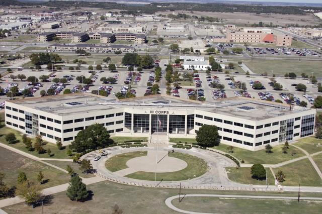 III Corps Headquarters at Fort Hood, Texas
