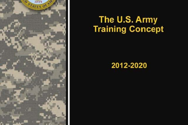 U.S. Army Training Concept 2012-2020