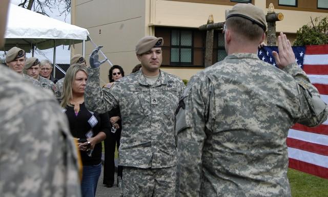 Petry re-enlists