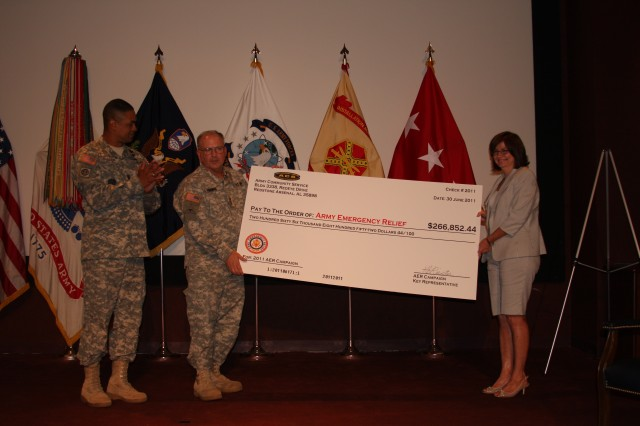 SMDC support Redstone Arsenal AER campaign
