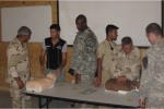 Iraqi Prime Power Production Course students learn CPR