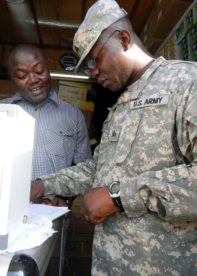 Ghanaian-American soldier comes home to Accra for MEDFLAG 11