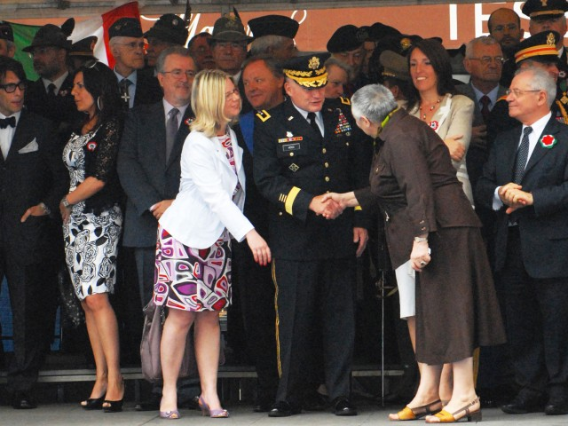 U.S. Army Africa joins in 150th celebration of Italian Day of National Unity
