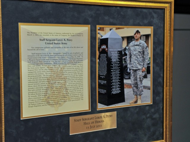 Medal of Honor recipient inducted into the Hall of Heroes