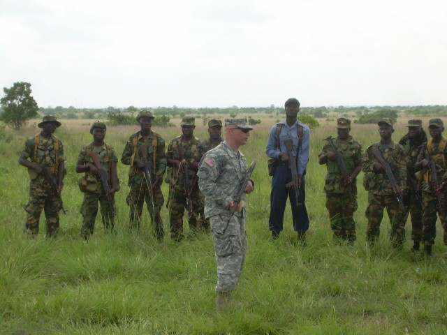 USARAF conducts Africa Contingency Operations Training and Assistance in Ghana