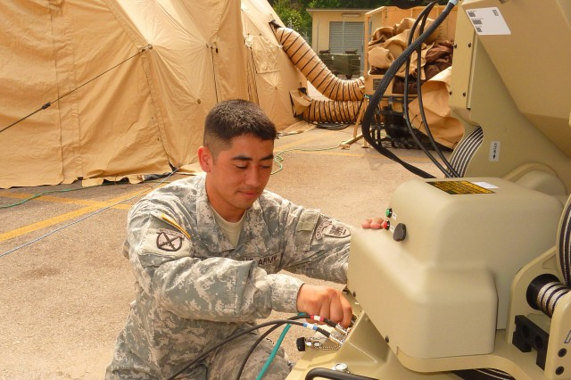 U.S. Army Africa's Forward Command Element ready to roll