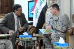 Al-Anbar Provincial Governor meets with US Advise and Assist Brigade Leadership