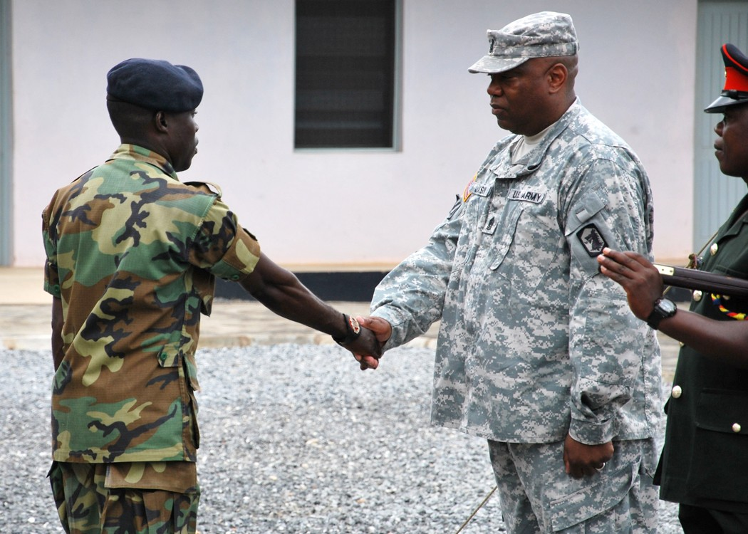 Ghana national council of chicago -  National Guard View Original U S And Ghanaian