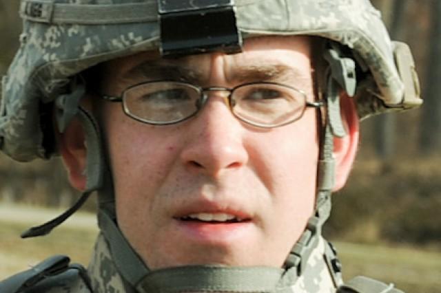 Spc. Bernard Quackenbush, US Army Materiel Command Soldier of the Year.