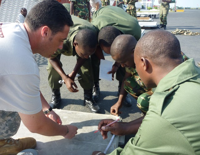 USARAF conducts deployment capability training in Burundi
