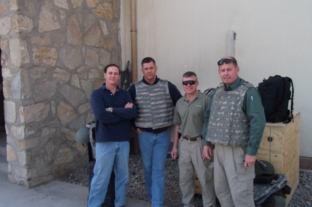 Members of Aviation Resource Assessment And Analysis Survey Team