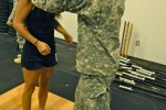 Combatives weigh-in