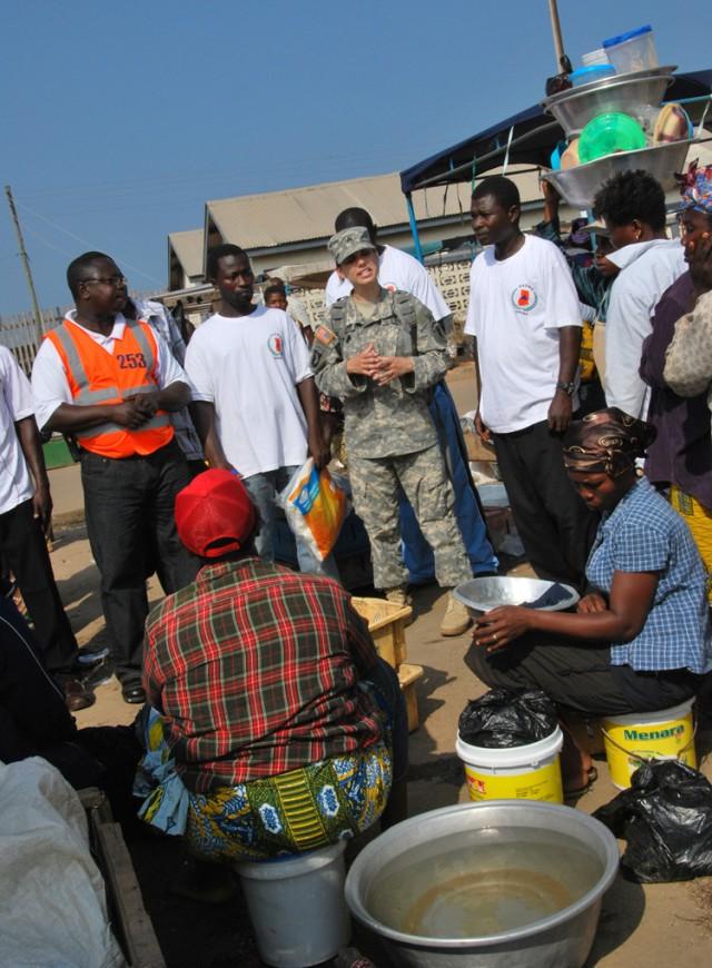U.S., Ghana partner to teach malaria prevention