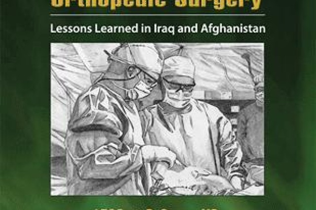 Textbook cover co-edited by Lt. Cols. Brett D. Owens, M.D., and Philip J. Belmont Jr., M.D.
