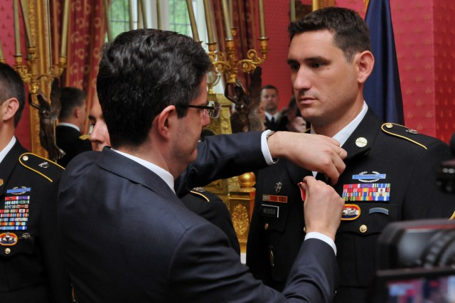France bestows high honors on Green Berets