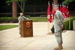 Review ceremony celebrates legacy of USAES, FLW