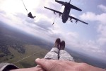 173rd BCT Soldiers jump into Ukraine with paratroopers from 5 partner nations