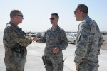 Partial completion of apron provides additional capability for U.S. Air Force at Shindand