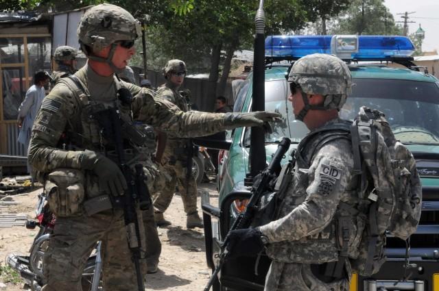 Special Agent Roger Jones and Bagram Raid