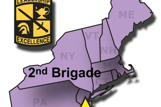 U.S. Army Cadet Command 2nd Brigade comprises the Northeast region of the United States.