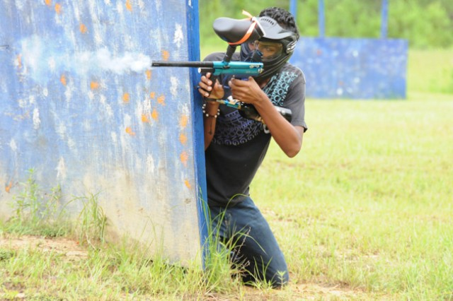 Dodging paint: Paintball takes kids to the EDGE! | Article | The ...