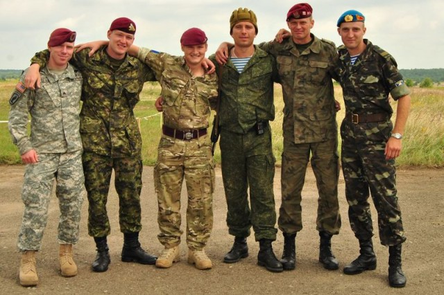 For Paratroopers Rapid Trident 2011 More Than
