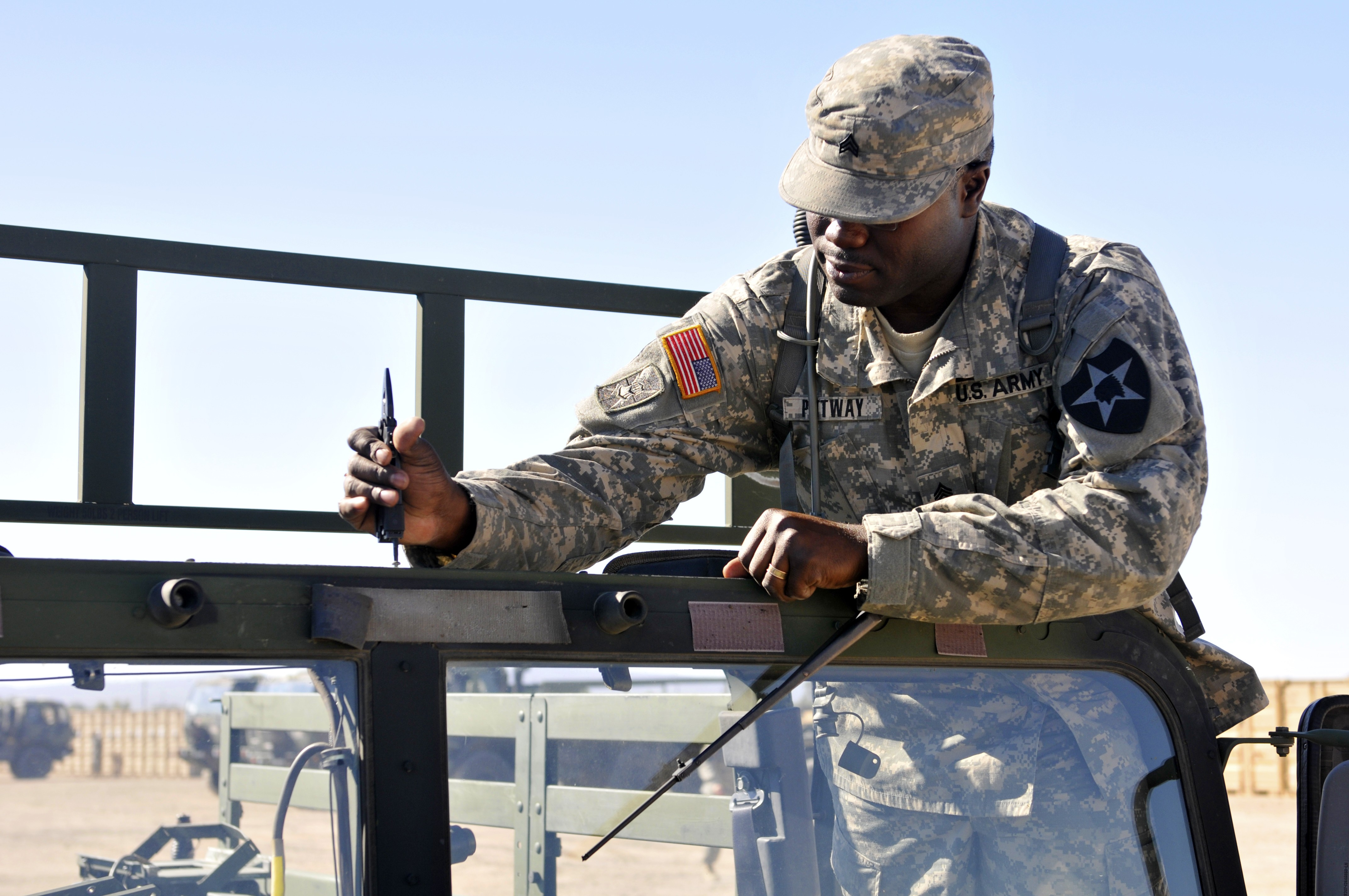 MILES gear simulates live combat at NTC | Article | The