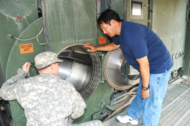 Logistics Assistance Representatives deploy with the Warfighter to repair and maintain equipment