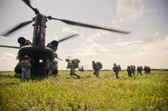 Aviators, infantry join forces