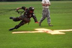 Morroccan Soldier Leaps for Leapfest