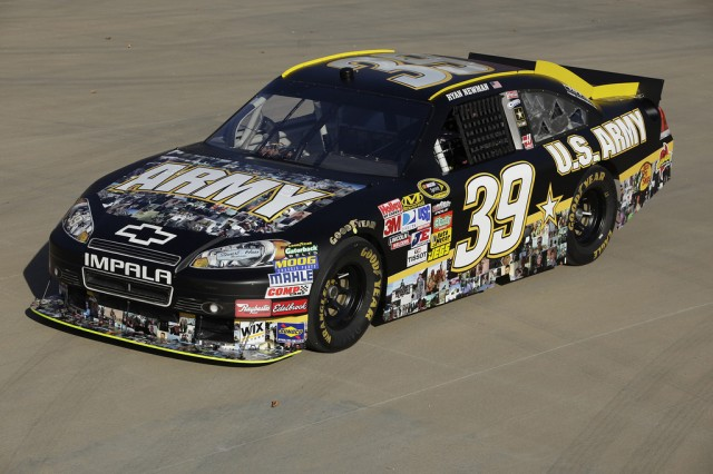2010 US Army NASCAR honoring all US Army Veterans