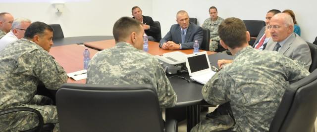 Top-notch Italian surgeon visits U.S. Army Africa