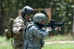 SF Soldier teaches paratrooper marksmanship