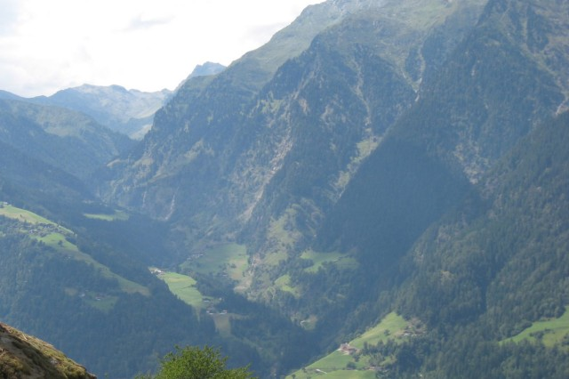 The Passeier Valley -- in German-speaking northern Italy -- lies just over the Austrian border, but life there displays a Mediterranean influence, both in climate and cuisine.