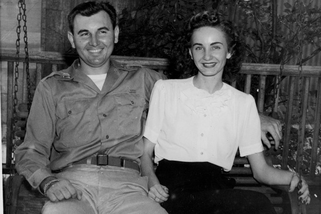 Murray and his wife, Anne, are pictured after his return from Europe in September 1945. Murray served in the Army for more than 30 years and retired as a colonel in 1973. His last assignment was on Fort Jackson, where he commanded the 1st Training Brigade.