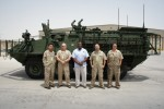 300th Stryker repaired at Camp As Sayliyah, Qatar.