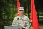 81st Regional Support Change of Command ceremony