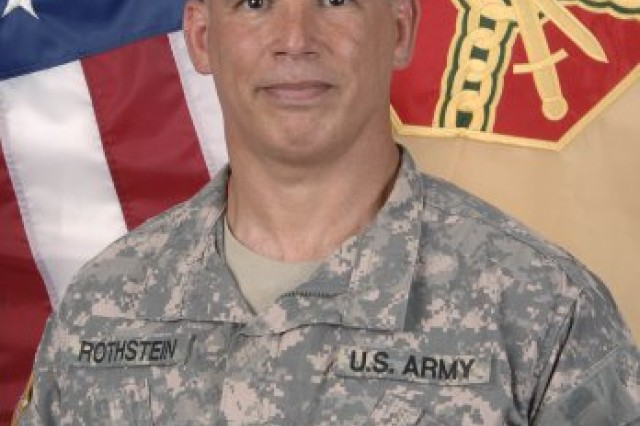 Fort Meade Garrison Commander Col. Edward C. Rothstein