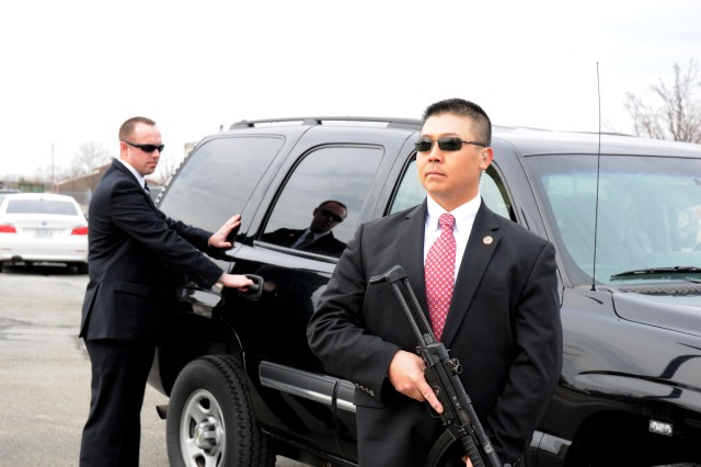 Along with investigating crime within the Army, CID Special Agents provide personal security services, much like the U.S. Secret Service, for key Department of Defense and Department of the Army officials wherever they travel around the world. The agents also provide security to certain foreign dignitaries visiting the United States.