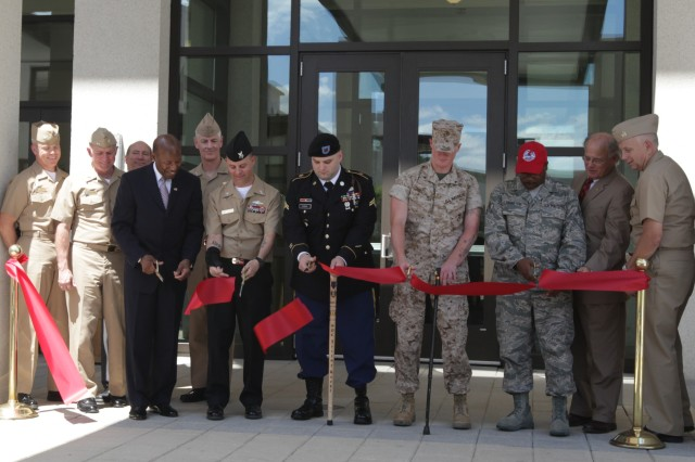 Bethesda wounded warrior barracks ribbon cutting